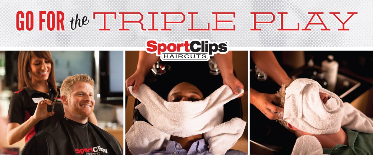 The Sport Clips Haircuts of Florence Mall Triple Play
